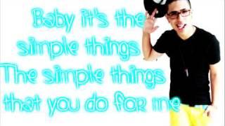 Joey Diamond Simple Things Lyrics