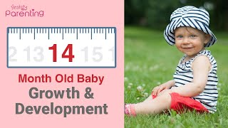 14 Month Old Baby - Growth, Development, Activities & Care Tips