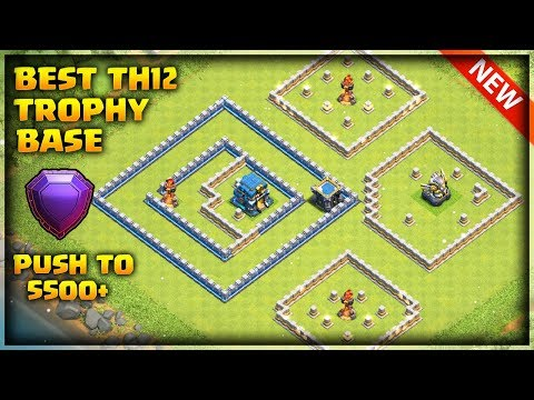 Best Th12 Trophy Base With 3 Infernos | Anti Electro Drag