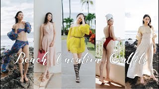 My 8 Beach Vacation Outfits