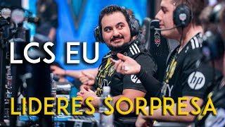 Los líderes sorpresa de la LCS EU
