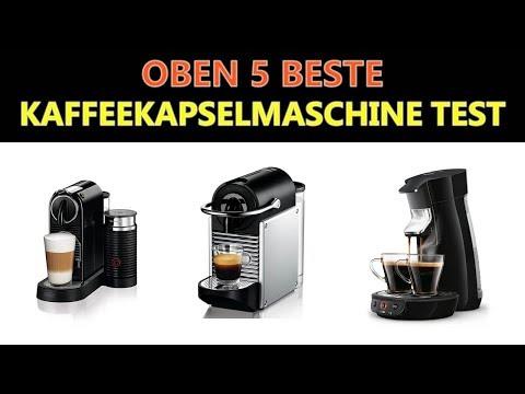 Beste Kaffeekapselmaschine Test 2019