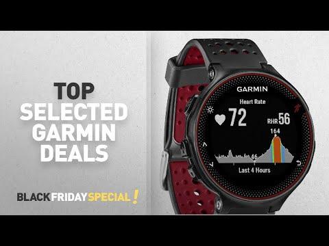 Top Black Friday Garmin Deals: Garmin Forerunner 235 GPS Running Watch with Elevate Wrist Heart Rate
