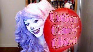 Cotton Candy Clown Makeup Tutorial
