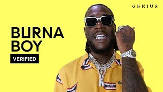 "Burna Boy ""Anybody"" Official Lyrics & Meaning | Verified"