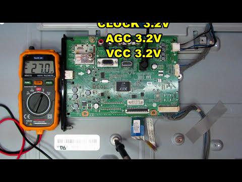 Falla de sintonía de canales en antena y cable en pantalla LED LG electronica nuñez tutoriales