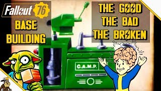 Fallout 76 Base Building (The Good The bad The Broken) Fallout 76 BETA