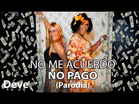 Thalía, Natti Natasha - No Me Acuerdo (PARODIA/Parody) / NO ME ACUERDO NO PAGO