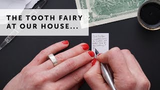 SPOILER ALERT For Young Eyes!! | Ultimate Tooth Fairy Tradition With Miniature Calligraphy