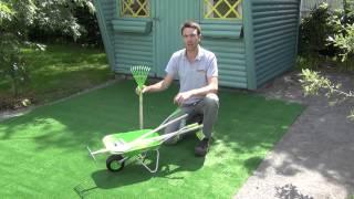 Kids Wheelbarrow & Garden Tools Set