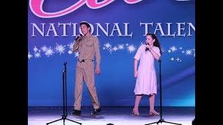 """Sixteen Going on Seventeen"" Rolf and Liesl Sound of Music LIVE Cover"