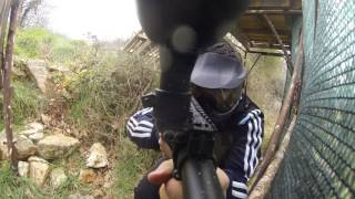preview picture of video 'Paintball Medulin UM²'