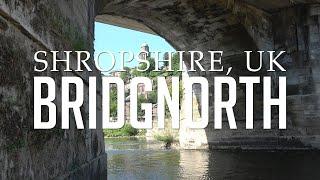 Bridgnorth, Shropshire, UK: High & Low Town, Castle Grounds, River Severn & Park