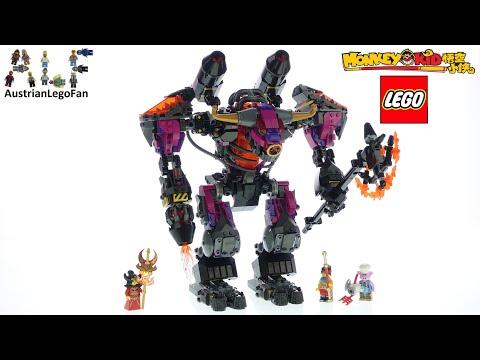 Vidéo LEGO Monkie Kid 80010 : Demon Bull King