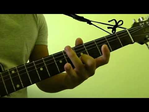 How to Press and Play C#m (C sharp minor) or Dbm (D flat minor) Guitar Bar Chord