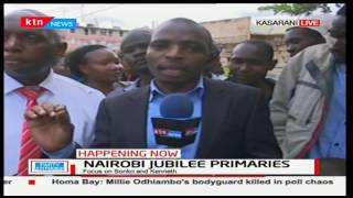 Kasarani residents turn out in large numbers to vote their respective candidates in primaries