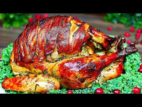 Best Thanksgiving Turkey You'll Ever Have!! Juicy Tender Roasted Turkey Recipe