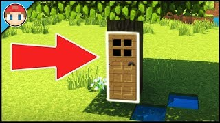 Minecraft: How to Build a Tree House - Live Inside a Tree! (Easy Tutorial)