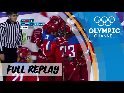 RE-LIVE Ice Hockey 🏒 | Turkey vs. Russia | European Youth Olympic Festival 2017
