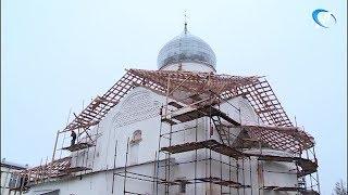 Церковь Дмитрия Солунского отреставрируют до конца года