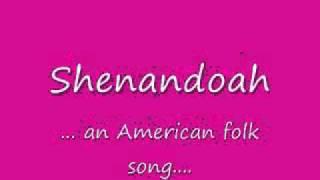 Oh Shenandoah Cover