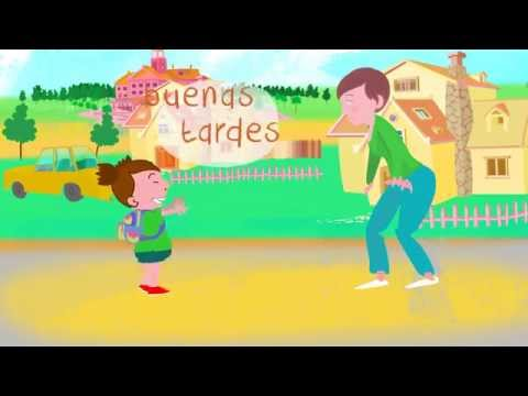 ¡Buenos días! Song to learn Spanish greetings and daily routines