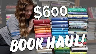 MASSIVE $600 BOOK HAUL!!!! Word Cloud Classics Collection