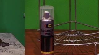 Краска нержавеющая сталь 380 мл, 230 гр. (Stainless Steel) от компании Мир Очистителей - видео