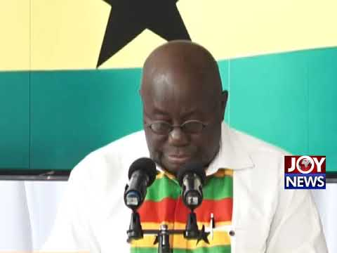 President Akufo-Addo on National Cathedral  (27-08-18)