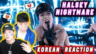 🔥(ENG) KOREAN Rappers  React To Halsey   Nightmare 💧💧