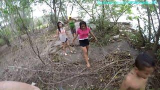 Nos fuimos a una aventura 4K a explorar el manglar. Una aventura en la playa el Saite. Parte 3