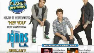 Jonas brothers Hey You (New Song! JONAS LA sound track) High Quality !!