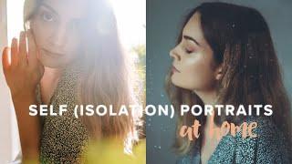 Easy Indoor Self Portrait Ideas - Behind The Scenes!