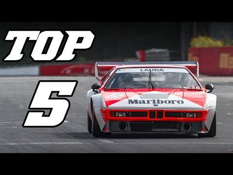TOP 5 - BEST BMW RACECAR SOUNDS