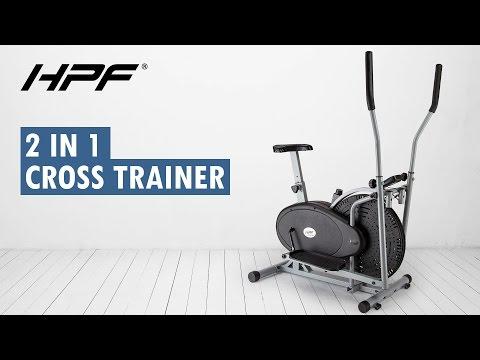 HPF 2 in 1 Elliptical Cross Trainer & Exercise Bike