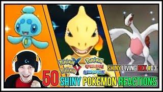 50 Shiny Pokemon Live Reactions! | Shiny Living Dex #101-150 | Pokemon X and Y - Pokemon ORAS | Kholo.pk