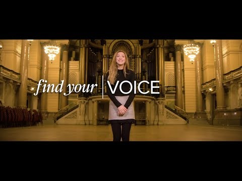 Find your voice at the University of Liverpool