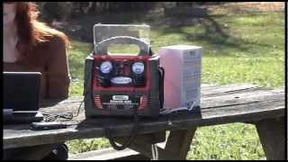V 30719 - Mobile Power 400W Power Station with USB Port