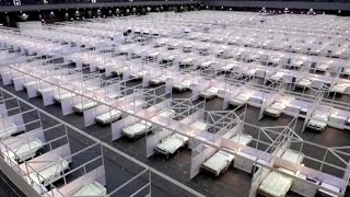 Hong Kong Asia World-Expo Becomes Temporary Hospital