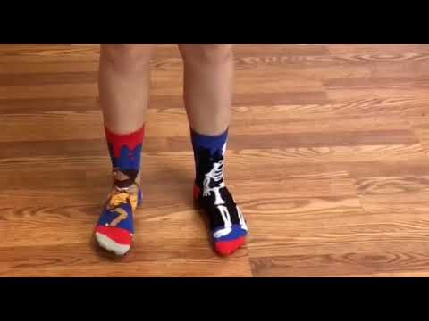 Youtube Video for Zombodies - Six Beastly Odd Socks
