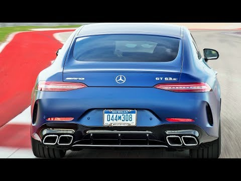 2019 Mercedes AMG GT 63 S 4MATIC+ 4-Door - Everyday Sports Car