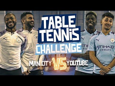 Tennis de table : Mahrez et Sterling dans la meme équipe