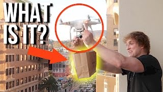 SOMEONE DRONED ME A GIFT!