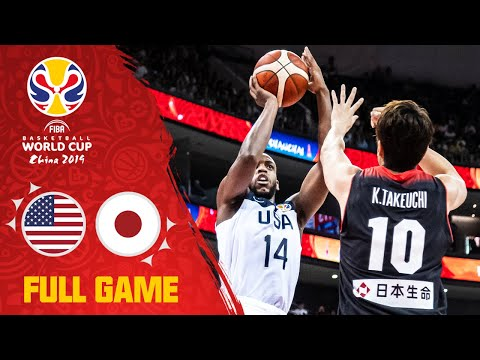 Jaylen Brown & USA outclass Japan! - Full Game - FIBA Basketball World Cup 2019