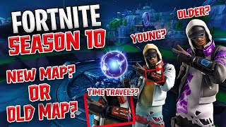 Fortnite Season 10? Time Travel? | Leaks And Insane Theories