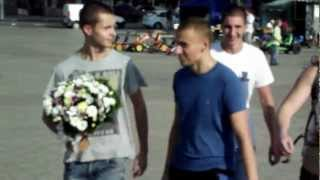 Русские пробежки Донецк поздравляем Настю