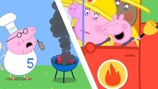 Peppa Pig Świnka Peppa po Polsku | Peppa i straż pożarna | Bajki Po Polsku