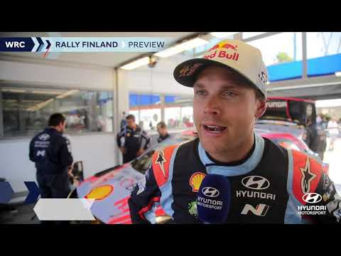 Rally Finland Preview - Hyundai Motorsport 2019