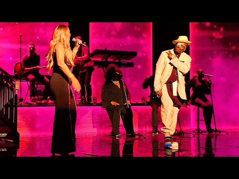 Mariah Carey - Giving Me Life Live (With Slick Rick & Blood Orange) 3/25/19 Caution World Tour NYC