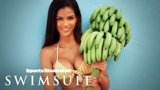 Cris Urena's Saint Lucia Shoot Will Make You Go Bananas | Intimates | Sports Illustrated Swimsuit